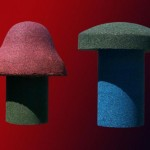 Magic Mushroom and Toadstool Seat