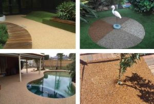 Porous Pebble Stone Paving